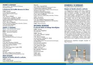 Dialogando - Il Programma- Stintino