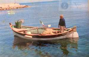 Lorenzo Diana, classe 1927.-- motobarca da pesca ALBA