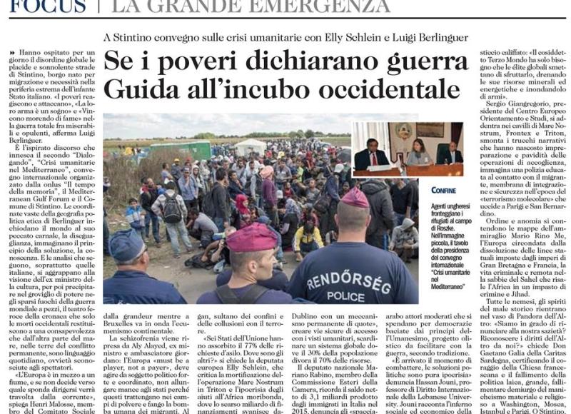 Dialogando - Stintino - 20151206 - L Unione Sarda